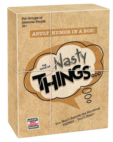 THE GAME OF NASTY THINGS