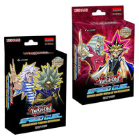 YUGIOH TCG Speed Duel Starter Deck Match of the Millennium & Twisted Nightmare (Pair)