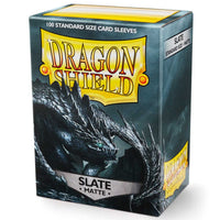 Dragon Shield Standard 100ct Slate MATTE 63x88mm Sleeves