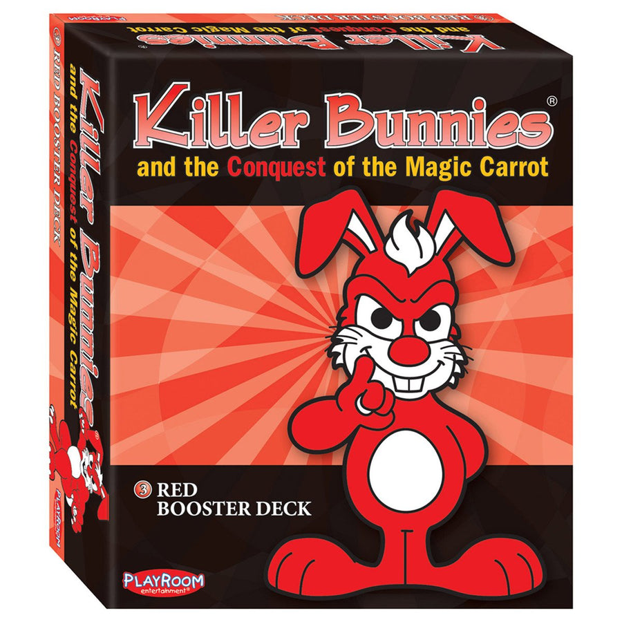 Killer Bunnies Conquest Red Booster Card Game