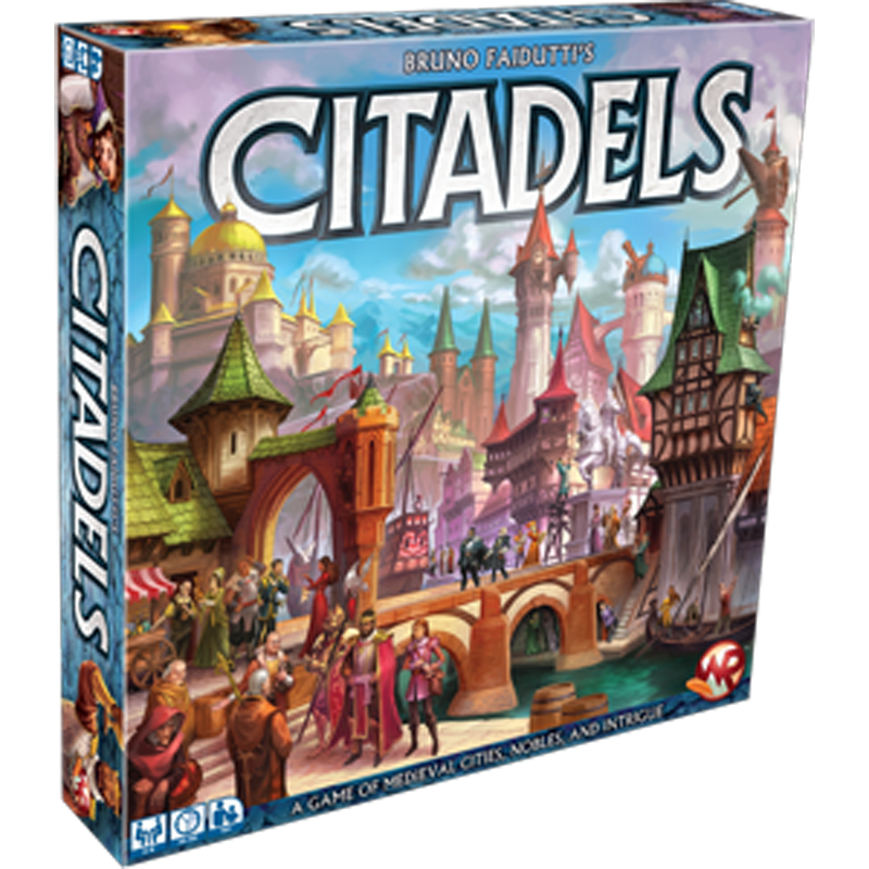 Citadels Deluxe 2016 Edition - Card Game