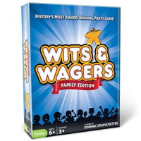 Wits and Wagers Family Board Game