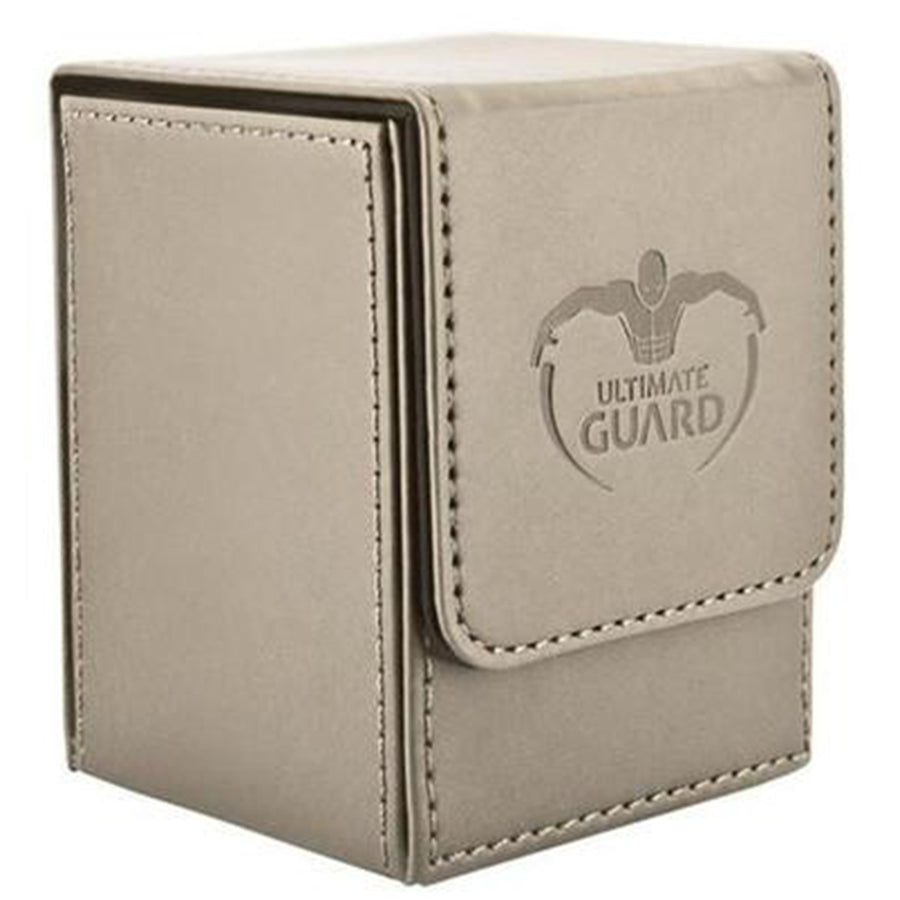 Deck Box Ultimate Guard Flip Deck Case 100+ Standard Size Sand