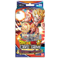 Dragon Ball Super Card Game 06 Miraculous Revival RESURRECTED FUSION Starter Deck