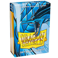 Dragon Shield Japanese 60ct Sky Blue MATTE 59x86mm Sleeves