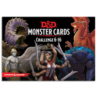 D&D Spellbook Cards Monster Deck 6-16 (74 cards)