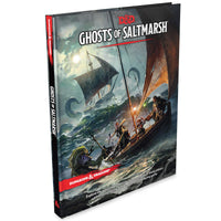 D&D Dungeons & Dragons Ghosts of Saltmarsh RPG book
