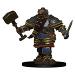 D&D Premium Figures Dwarf Male Fighter
