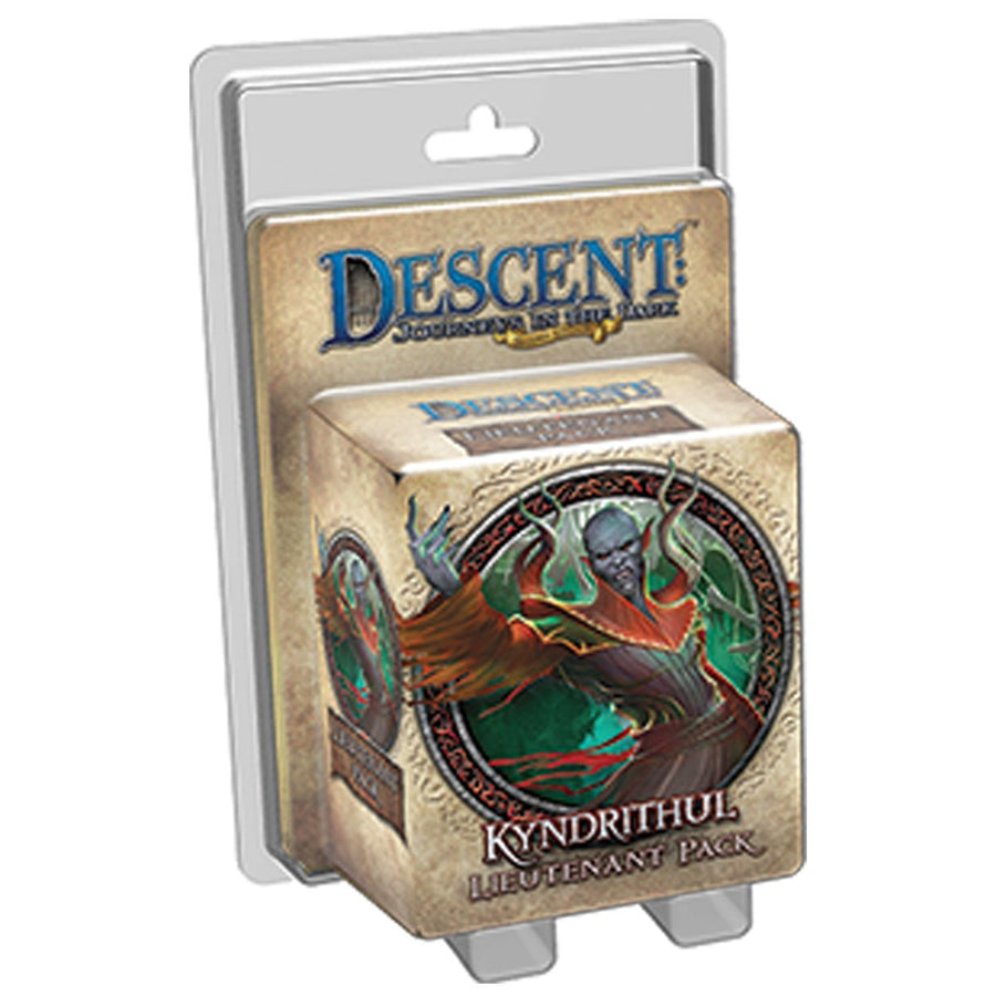 Descent 2nd Edition Kyndrithul Lieutenant Expansion Pack