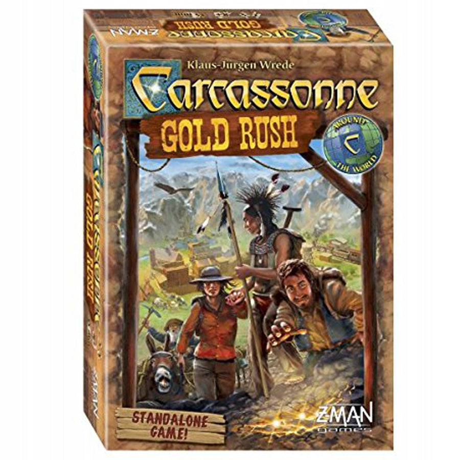 Carcassonne: Gold Rush Expansion