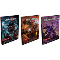 D&D Dungeons & Dragons Core Rulebook Gift Set 3 Books and Master Screen