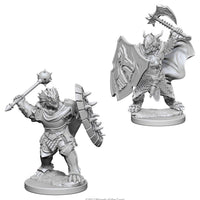 Dungeons & Dragons - Nolzurs Marvelous Unpainted Minis: Dragonborn Male Paladin