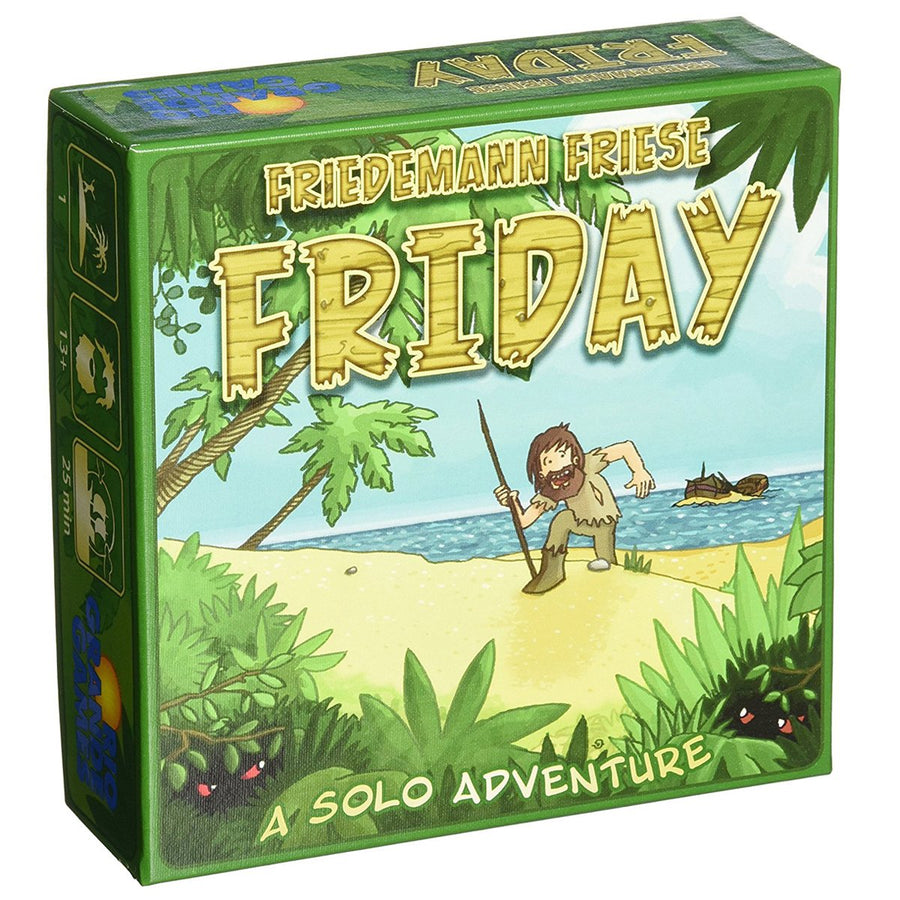 Friday Card Game Board Game