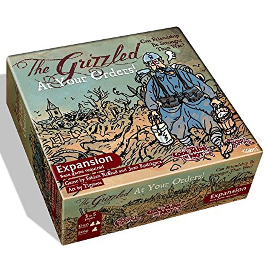 The Grizzled At Your Orders!