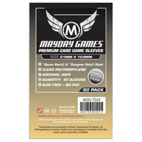 Mayday Magnum Premium Space Card Sleeve 61 X 103 50ct Space Alert Dungeon Petz
