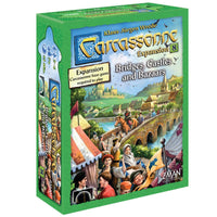 Carcassonne Expansion 8 Bridges, Castles and Bazaars