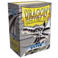 Dragon Shield Standard 100ct Silver 63x88mm Sleeves