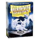 Dragon Shield Standard 60ct White MATTE 63x88mm Sleeves