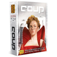 Coup Card Game Deduction Deception Secret Identities