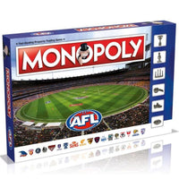 AFL Monopoly New Updated Version Board Game