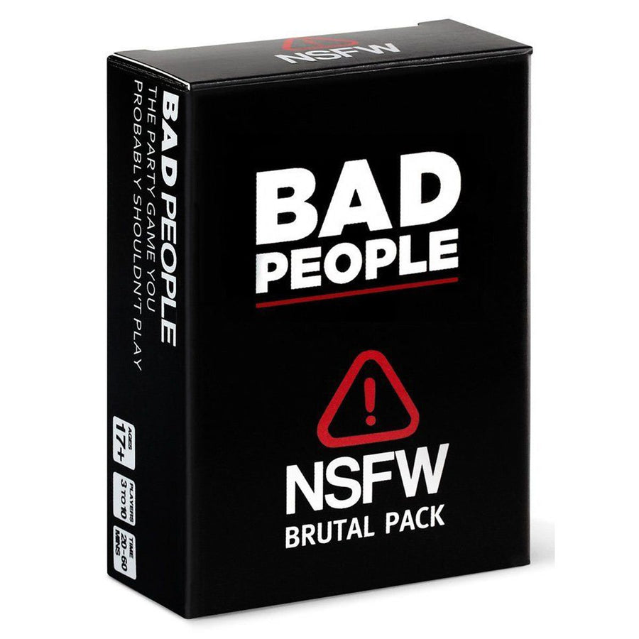 Bad People - The Party Game You Probably Shouldnt Play NFSW Expansion