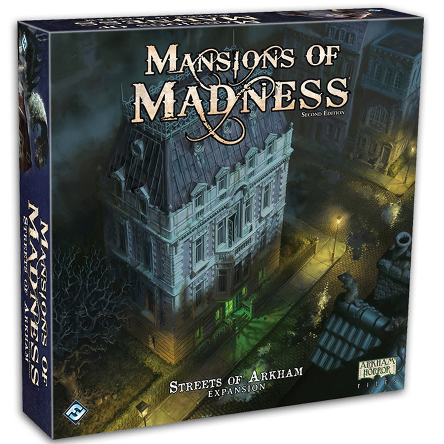 Mansions of Madness Streets of Arkham Expansion Board Game
