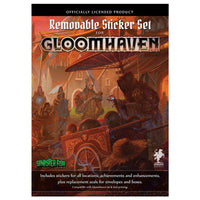Gloomhaven Removable Sticker Set Board Game Accessories