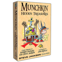 Munchkin Hidden Treasures Upgraded Board Game Card Game