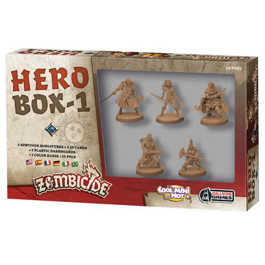 Zombicide Hero Box 1