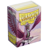 Dragon Shield Standard 100ct Pink MATTE 63x88mm Sleeves