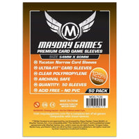 Mayday Premium Yucatan Narrow Card Game Sleeves 50ct 54 X 80 Twilight Imperium