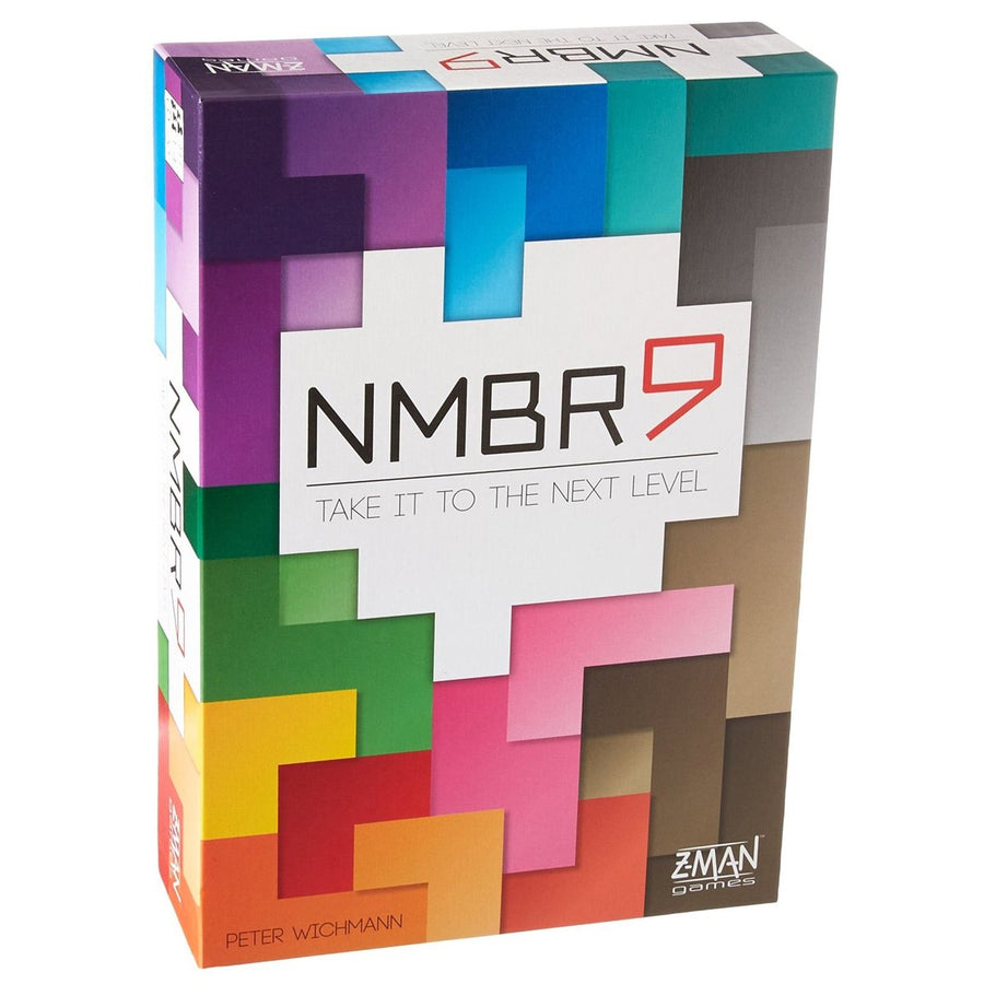 NMBR 9 Board Game Card Game