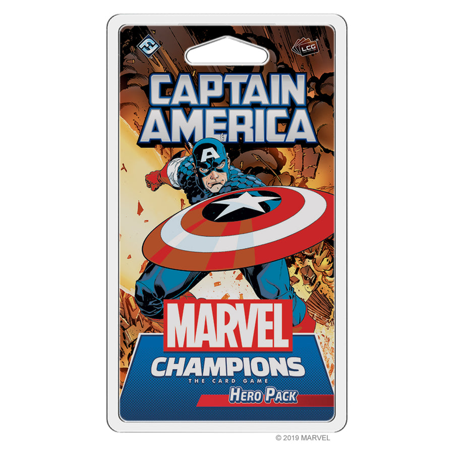 Marvel Champions LCG Captain America Hero Pack