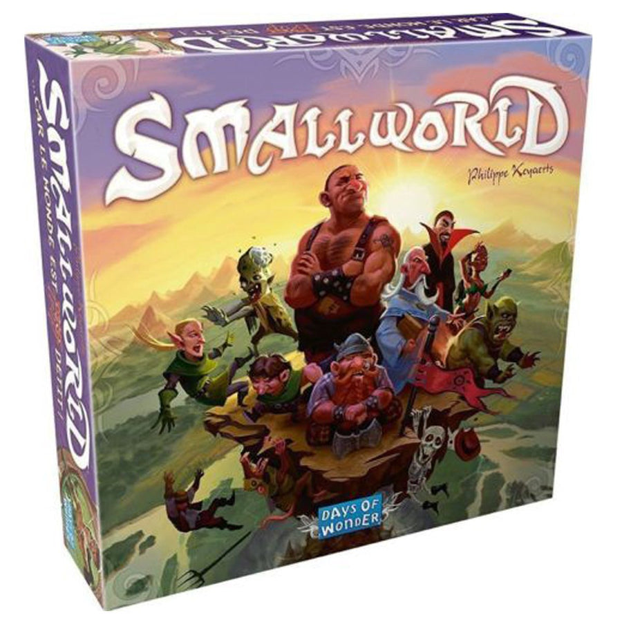 Small World Original Base Game Board Game Strategy Game Xmas Gift