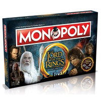 Lord of the Rings Monopoly Board Game Card Game