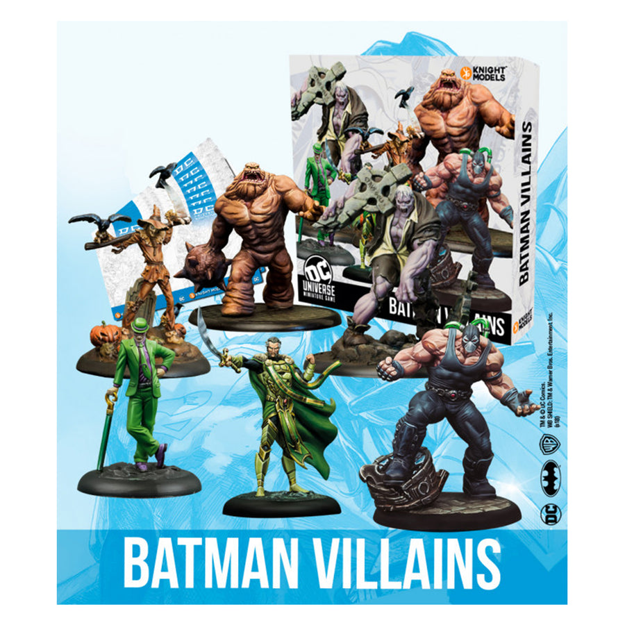 DC Universe Miniatures Game Batman Villains Box
