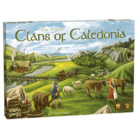 Clans of Caledonia Board Game Card Game