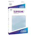 Ultimate Guard Supreme UX Sleeves Japanese Size Matte Transparent 60ct