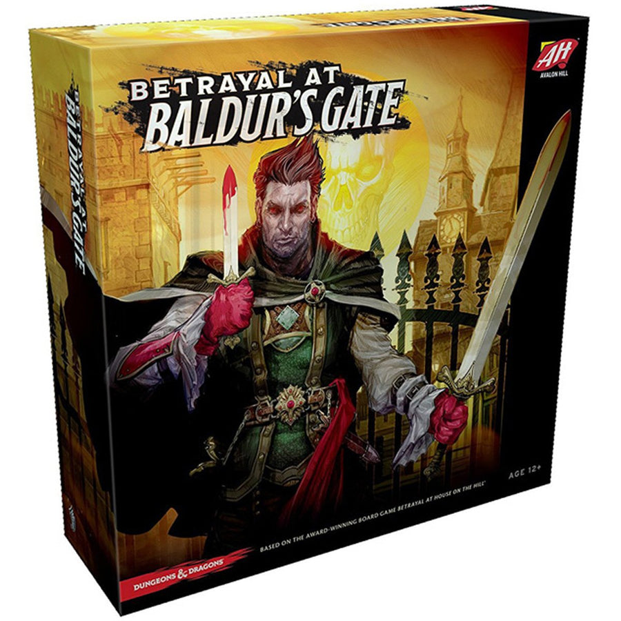 AVL Betrayal at Baldurs Gate Board Game