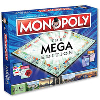 Mega Monopoly Board Game Family Party Easter Christmas Gift Game