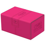 Deck Box Ultimate Guard Twin Flip n Tray 160+ Standard Size XENOSKIN Pink