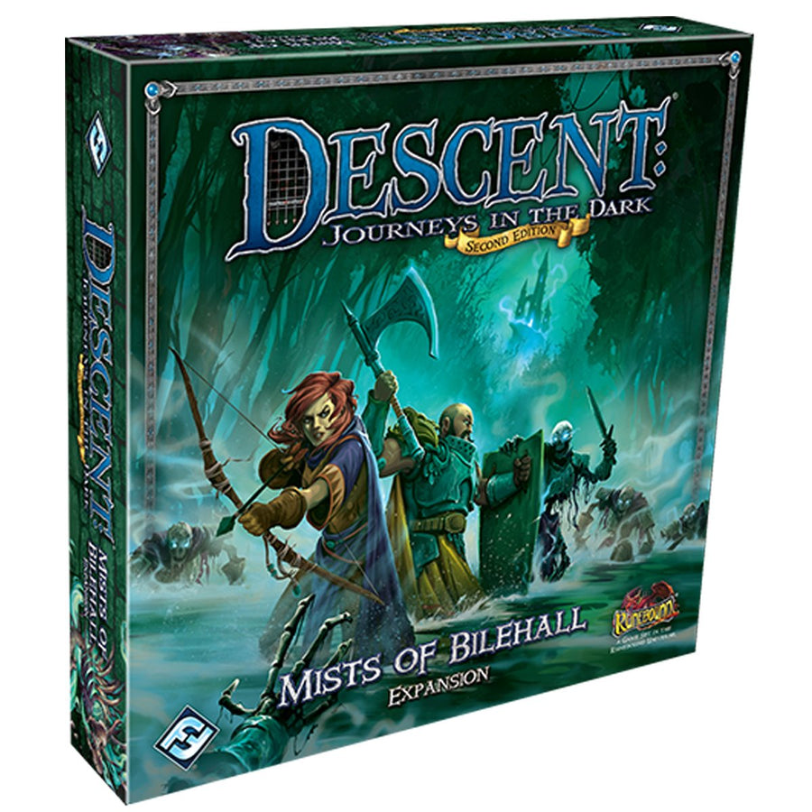 Descent 2nd Edition Mists of Bilehall Expansion