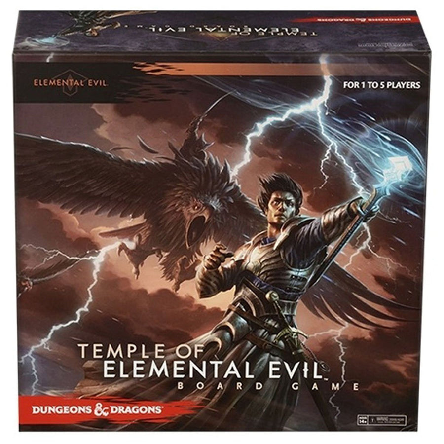 d d dungeons dragons temple of elemental evil board game