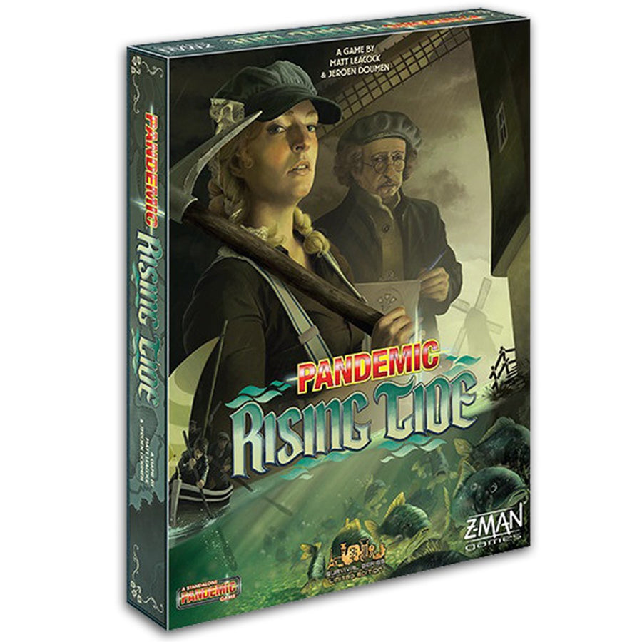 Pandemic Rising Tide Board Game Card Game