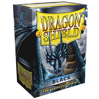 Dragon Shield Standard 100ct Black 63x88mm Sleeves