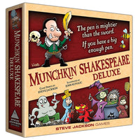 Munchkin Shakespeare Deluxe Board Game Card Game