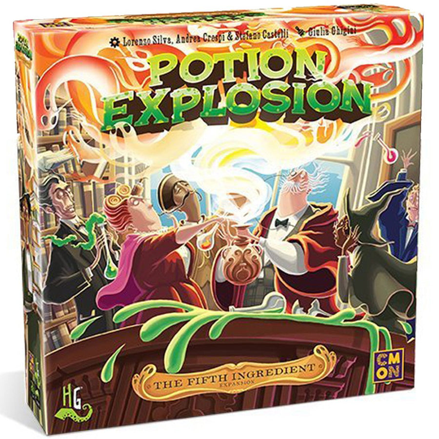 Potion Explosion The 5th Ingredient Board Game Card Game