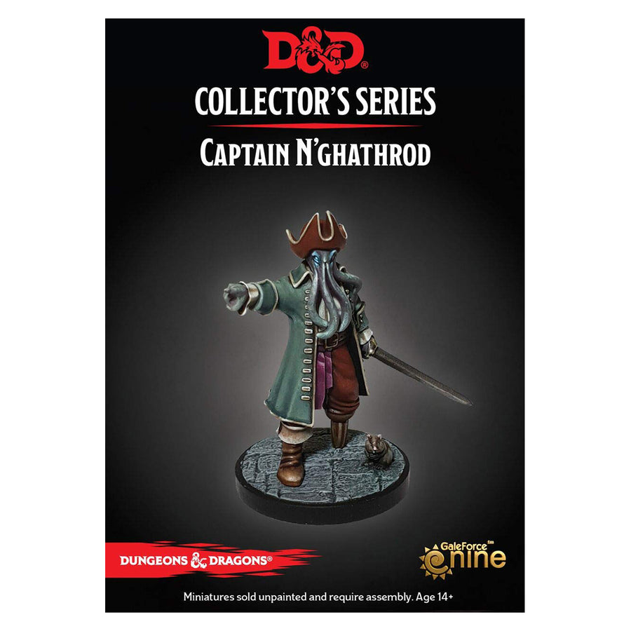 D&D Collectors Series Waterdeep Dungeon of the Mad Mage Captain N'ghathrod
