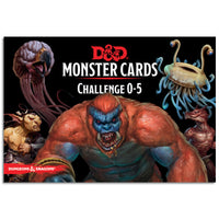 D&D Spellbook Cards Monster Deck 0-5 (179 cards)