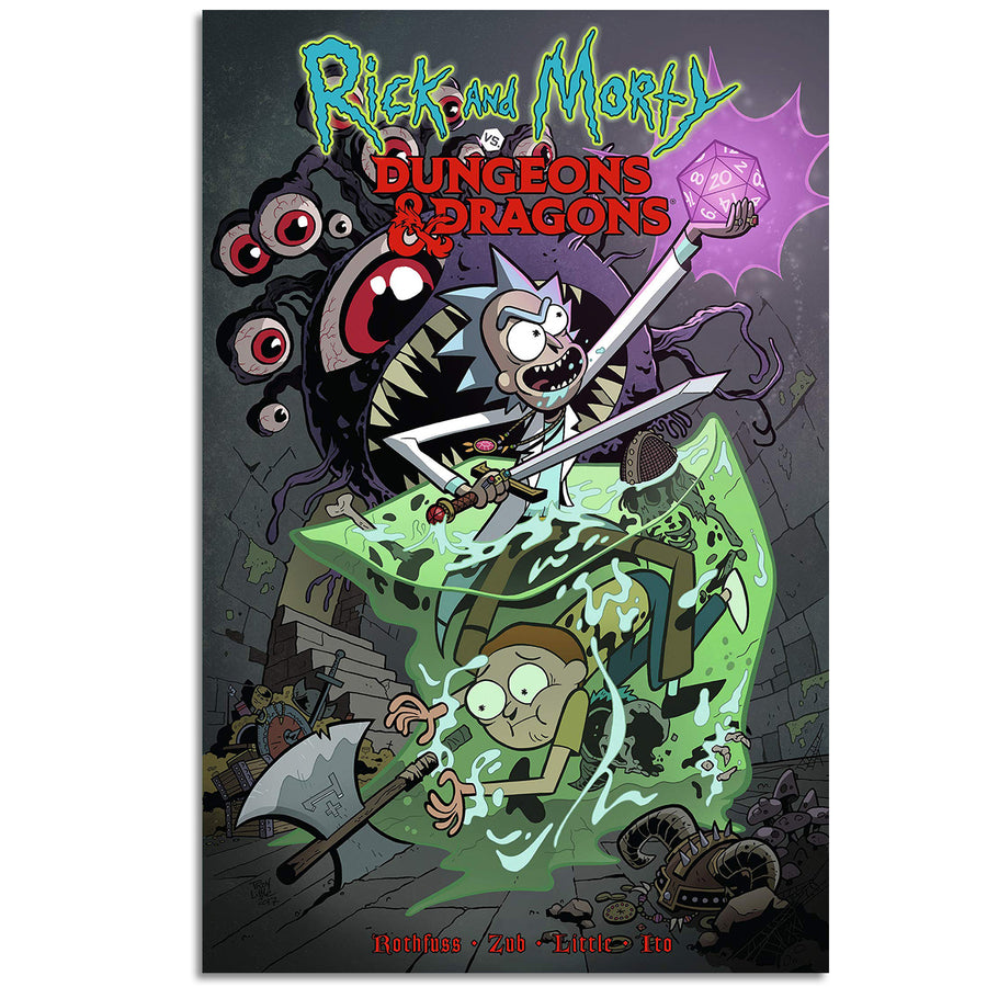 D&D Rick and Morty VS Dungeons & Dragons